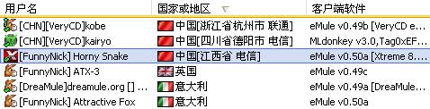 載入了中國擴展版IP2C的MorphXT的傳輸窗口